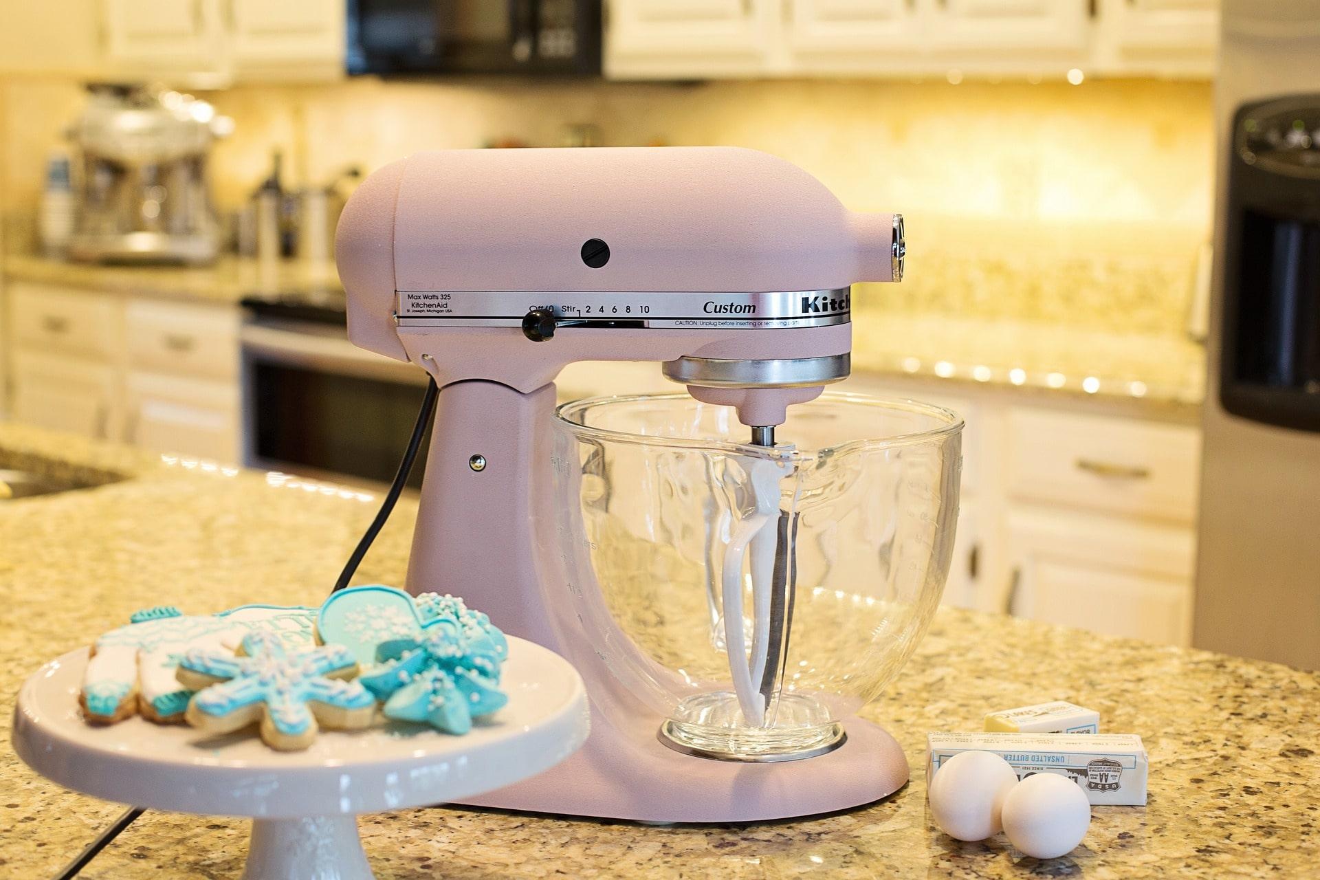 Rosa Küchenmaschine